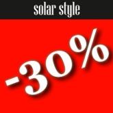Akiniams nuo saulės -30%